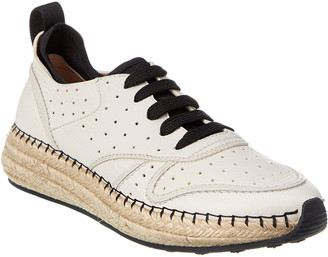 Tod's Leather Espadrille Sneaker