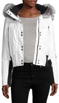 Spyder Women's Bella Fox Fur-Trimmed Down Jacket