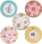 Royal Albert 100 Years Plate Set - 5 Piece - 1950-1990