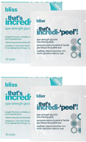 Bliss Thatâ€TMs Incredi-Peel Resurfacing Pad - Set of 60