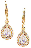 Anne Klein Cubic Zirconia Teardrop Earrings