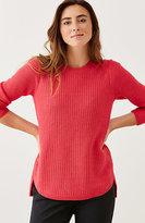 J. Jill Mixed-Stitch Pullover