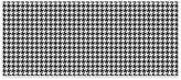 Weather GuardTM Houndstooth Kitchen Runner