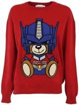 Moschino Transformer Bear Knit Sweater