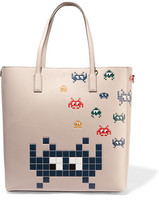 Anya Hindmarch Ebury Embossed Leather Tote - Ivory