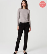 LOFT Bi-Stretch Straight Leg Pants in Marisa Fit