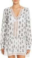 Athena Cabana Paisley Tunic Swim Cover-Up