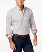Barbour Men's Charles Tattersall Check Long-Sleeve Shirt