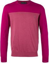 Etro colour block jumper - men - Cotton - XXL
