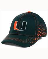 Top of the World Miami Hurricanes Fade Stretch Cap