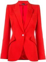 Alexander McQueen tailored blazer - women - Cupro/Virgin Wool - 46