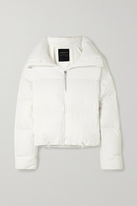 Cordova Mont Blanc Quilted Down Ski Jacket - White