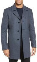 Michael Kors Men's Slim Fit Wool Blend Top Coat