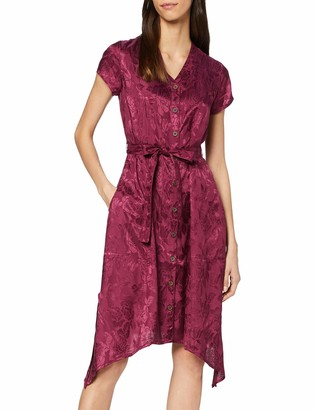 Joe Browns Women's Button Through Jacquard Dress Casual