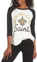 Junk Food Clothing Women's Nfl New Orleans Saints Raglan Tee
