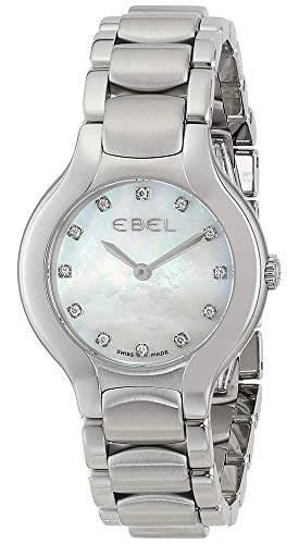 "Ebel Women's 1216038 ""Beluga"" Stainless Steel Watch with Diamond Markers"