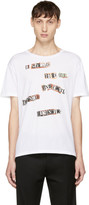 Valentino White Jamie Reid Edition the Next Beginning T-shirt