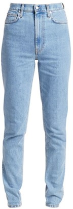 Helmut Lang Femme High-Rise Spikes Jeans