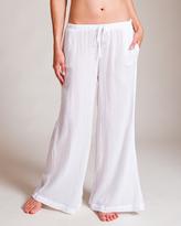 White Gauze Pants - ShopStyle