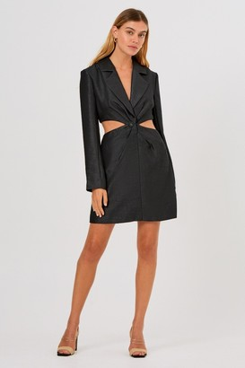 Finders Keepers YVES DRESS Black