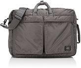 Porter Men's Tanker Briefcase/Backpack-SILVER