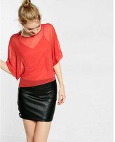 Express chiffon boxy blouse