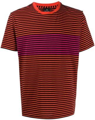 Paul Smith striped print T-shirt