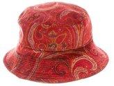 Etro Paisley Bucket Hat