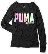 Puma Girls 7-16) Forever Awesome Top