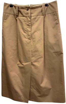 Margaret Howell Beige Cotton Skirt for Women