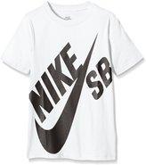 Nike T Shirt Junior Skateboarding Tee Logo Crew Neck Short Sleeve Top Cotton T Shirt New