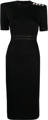 Balmain Fitted Mid-Length Dress