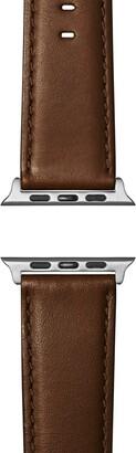 Shinola Rail Road Leather Apple Watch(R) Strap