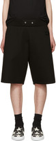 Givenchy Black Neoprene Shorts