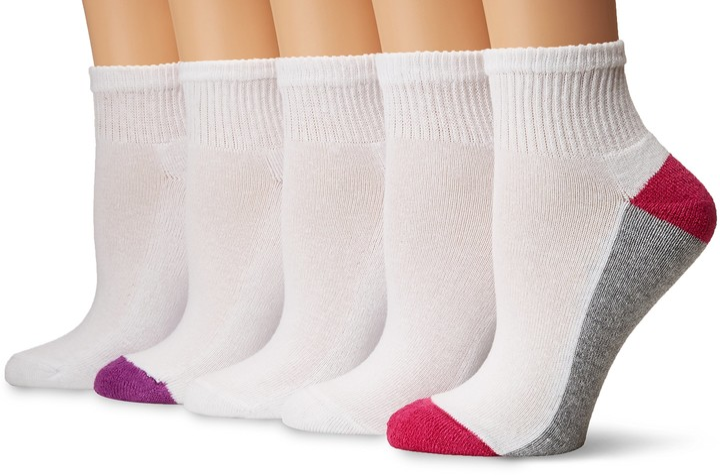 Thumbnail for your product : Gildan Half Cushion Ankle Socks 10 Pairs