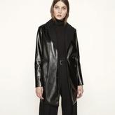 Maje Vinyl pea coat