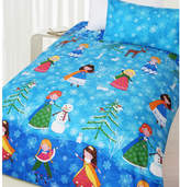 Snow Princess Glow in the Dark Quilt Cover Set