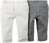 Carter's 2 Pack Leggings (Baby) - Assorted-24 Months