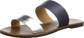 Joules Women's Fenthorpe Sandal Silver 10 Medium US