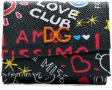 Dolce & Gabbana Love Club graffiti wallet
