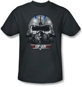 Top Gun Mens Iceman Helmet T-Shirt In