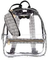 Betsey Johnson Clear Backpack