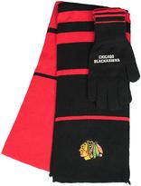 Chicago Blackhawks Scarf & Gloves