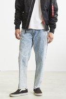 BDG Embroidered Acid Wash Slim Jean
