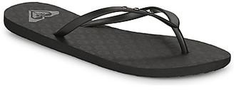 Roxy VIVA GLITZ II women's Flip flops / Sandals (Shoes) in Black