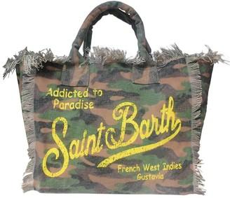 MC2 Saint Barth Camouflage Canvas Beach Bag