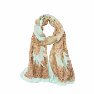 ALBERTO CABALE Super Soft Silk Chiffon Bridal Wedding Stole Evening Dress Shawl Wrap Scarf Salmon