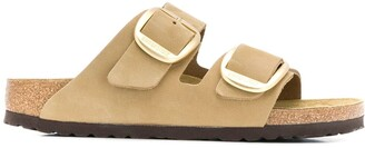 Birkenstock Suede Buckle Sandals