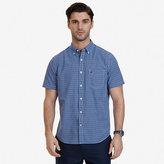 Nautica Big & Tall Bright Plaid Short Sleeve Shirt