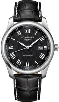 Longines L2.793.4.51.7 Master Collection stainless steel and leather watch